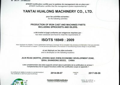 ISO/TC 16949:2009